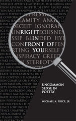 RIGHT IN FRONT OF YOU, uncommon sense poetry by Michael Price Jr.