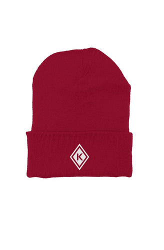 Kap Apparel Beanie Red/White