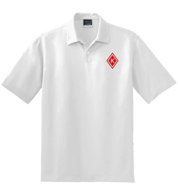 Kap Apparel Nike Polo white