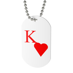 Kappa Sweetheart Dog Tag