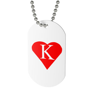 Kappa Love Dog Tag