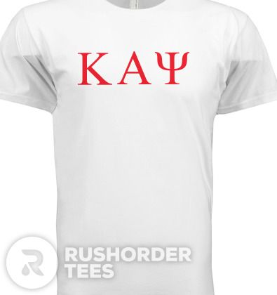 Kappa Alpha Psi Tackle Twill T-Shirt