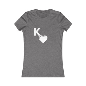 Kappa Sweetheart Red Women's Favorite Tee