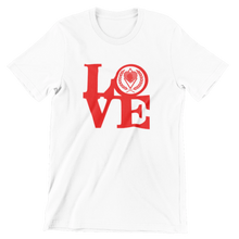 Load image into Gallery viewer, Kappa Silhouette LOVE T-Shirt white