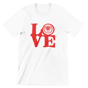 Kappa Silhouette LOVE T-Shirt white