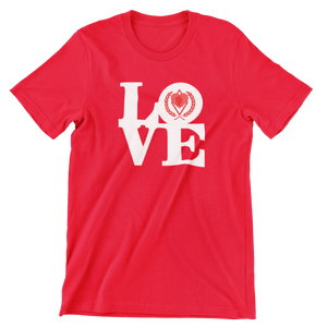 Kappa Silhouette LOVE T-Shirt red