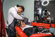 Agadir Men: Barber Spotlight Victor Mendoza