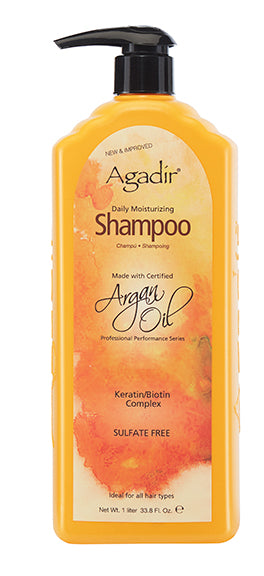 Agadir Oil Daily Moisturizing Shampoo Pump