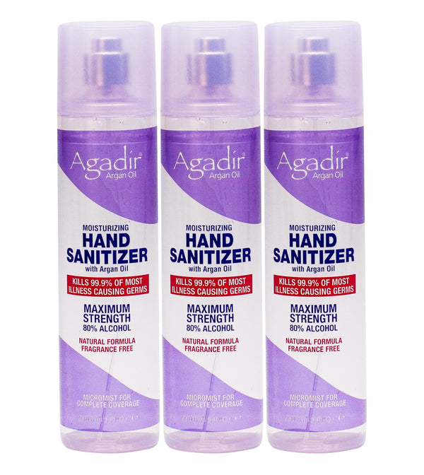 3 Pack 8 oz Hand Sanitizers for $30