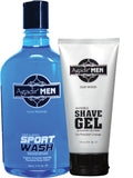 17 oz Sport Wash with FREE 6 oz Shave Gel
