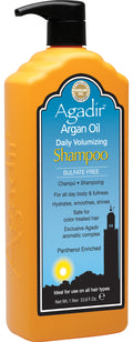 Agadir Oil Daily Volumizing Shampoo Pump