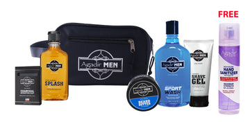 Mens Bag Deal w/ Free 8 oz. Hand Sanitizer