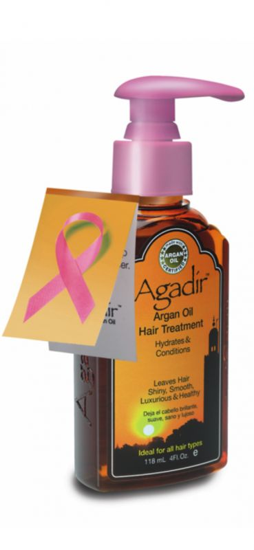 4 Oz. Pump Agadir Argan Oil Hair Treatment for Breast Cancer