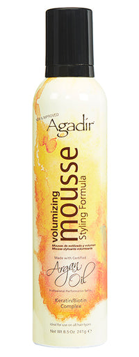 Argan Oil Volumizing Styling Mousse - 8.5 oz.