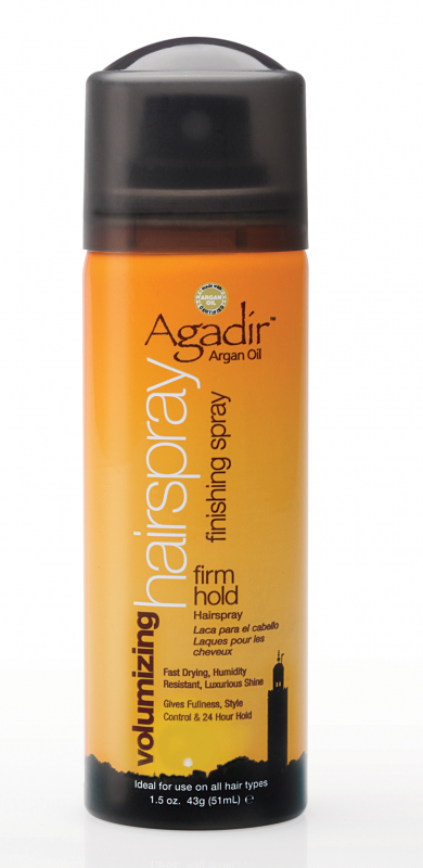 Agadir Volumizing Hair Spray - Firm Hold Travel Size