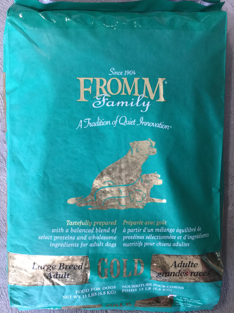 FROMM chien gold adulte grande race 15lb