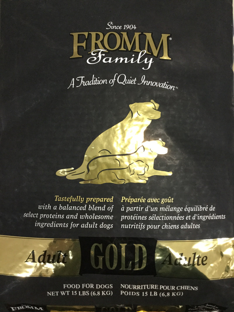 FROMM chien gold adulte 15lbs