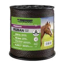 "BEAUMONT - Cordon Marron ""Paddock"" 5mm X 200m"