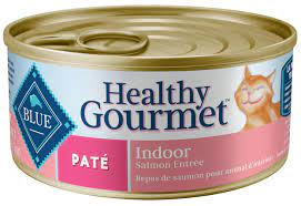BLUE HEALTHY GOURMET - Conserve chat au saumon