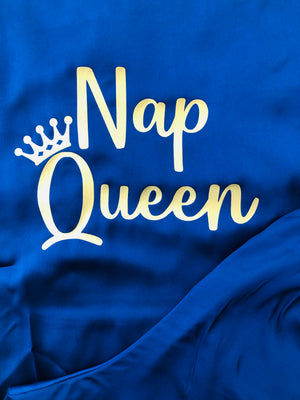 RTG: Nap Queen Navy Strappy Short PJs  - LARGE