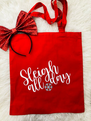 SLEIGH ALL DAY TOTE BAG