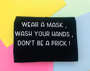RTG : Mask,Hands,Prick Tee - SMALL