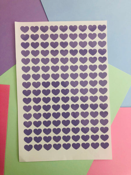 MINI HEARTS WALL STICKERS