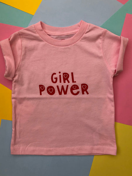 GIRL POWER KIDZ TEE