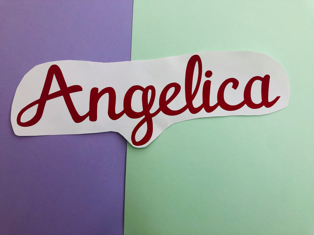 NAME WALL STICKER