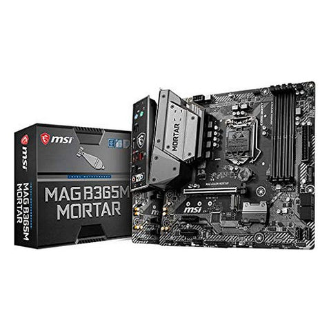 Scheda Madre Gaming MSI B365M Mortar mATX DDR4 LGA1151