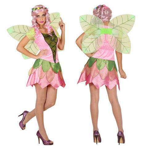 Costume per Adulti Fata Rosa (2 Pcs)