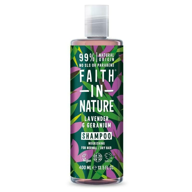 Faith in Nature Lavender & Geranium Shampoo (Vegan)