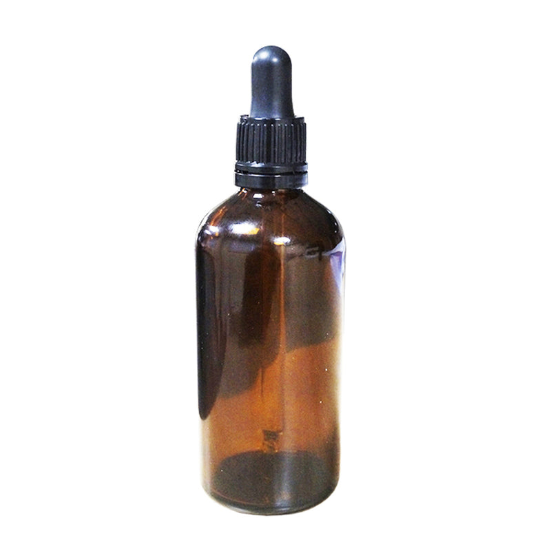 100ml Amber Bottle with 105mm Glass Pipette