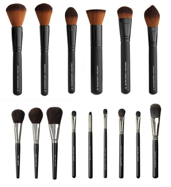 Synthetic Cosmetic Makeup Brushes 100% cruelty free (Vegan Love)