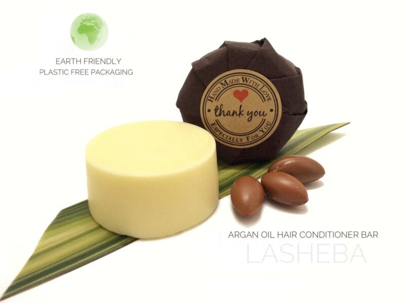 Argan Oil, Shea & Coco Butter Leave In Conditioner Bar