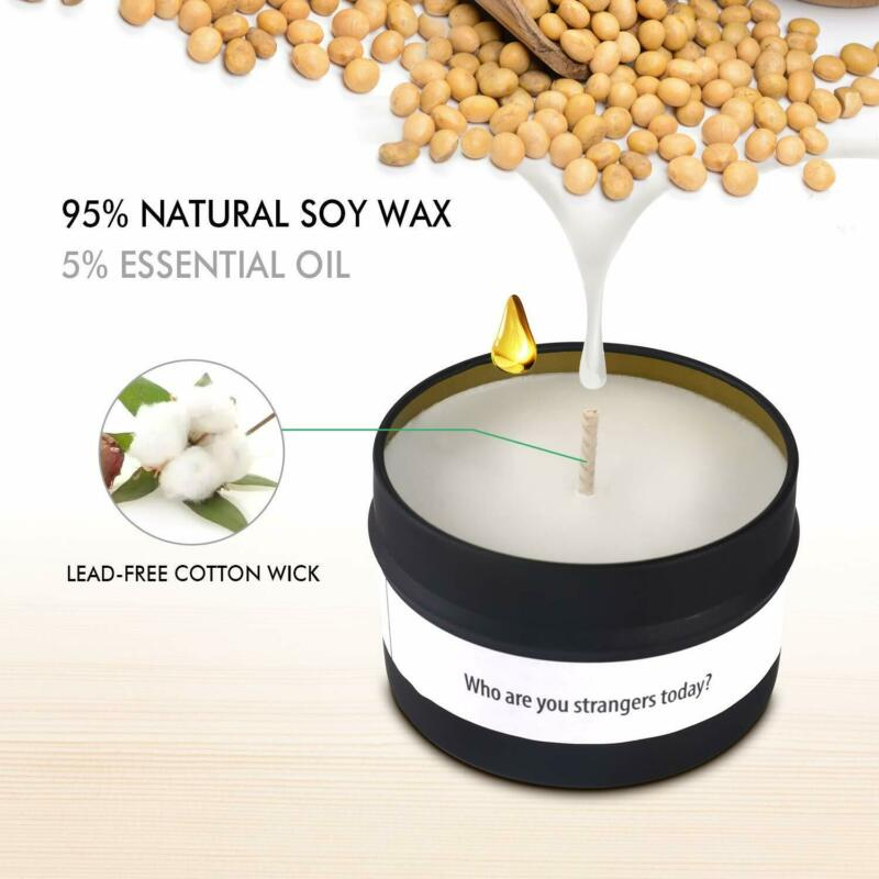 Soy Scented Candles Gift Set of 6 (6 x 100g)