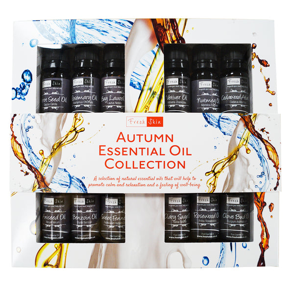 Autumn Essential Oil Gift Set – Best Selling Collection of Autumn Essential Oils