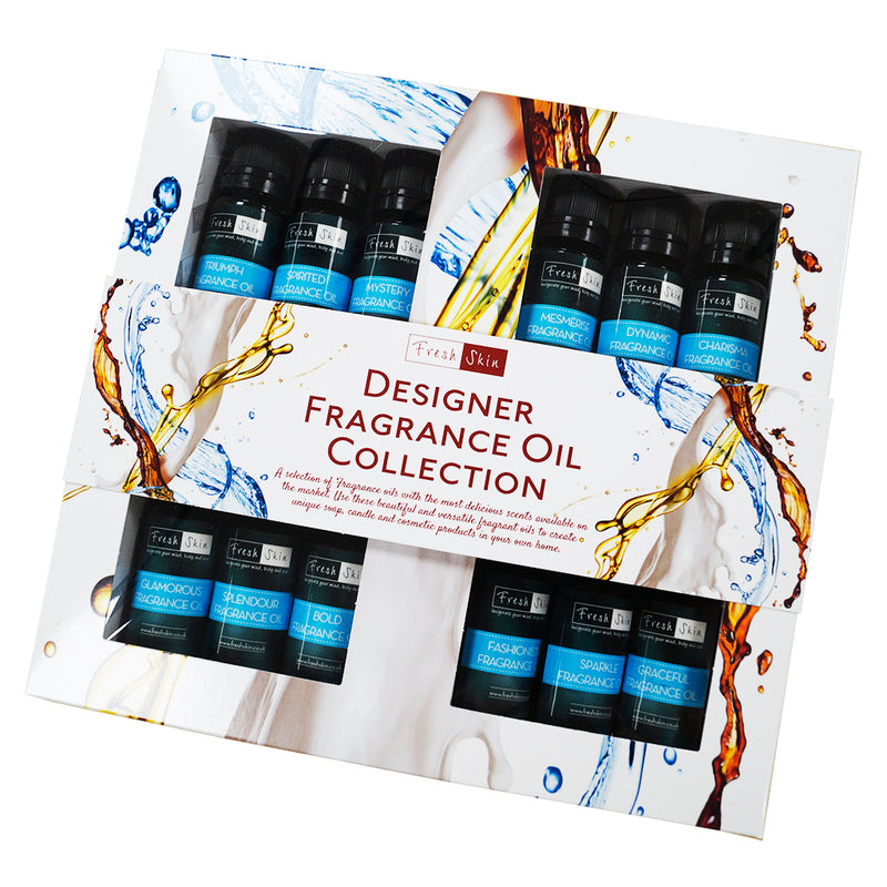 Designer Fragrance Oil Starter Kit – Best Selling Collection of Designer Fragrance Oils!