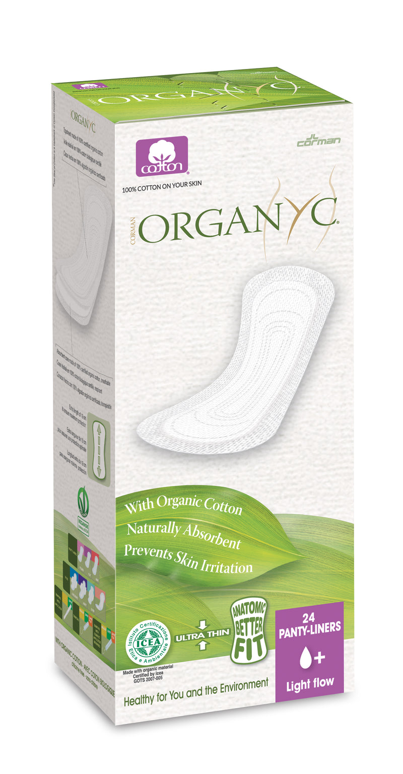 Traditional Line Organic Cotton Panty Liners (Light Flow)