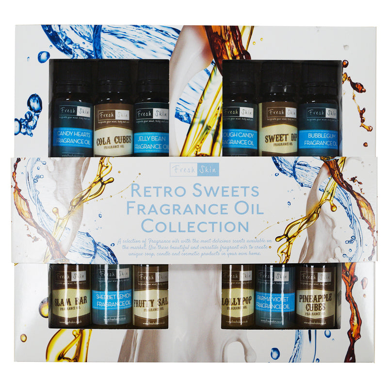 Retro Sweets Fragrance Oil Starter Kit – Best Selling Collection of Retro Sweets Fragrance Oils!