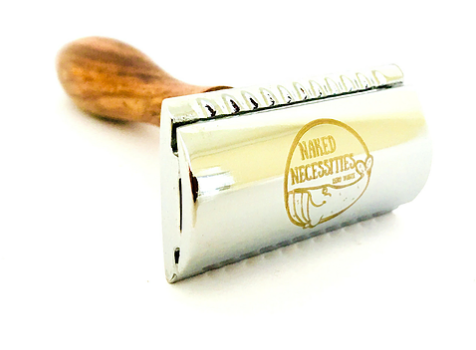 The Naked Shave - Brown Razor with 5 Blades