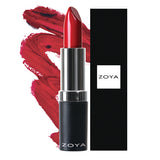 Zoya Hydrating Cream Lipstick (Matte Red)