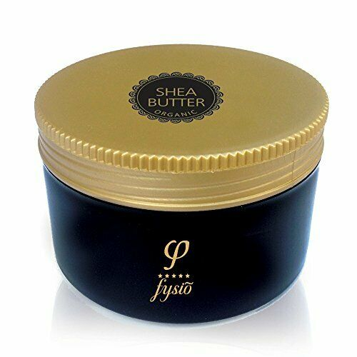 Organic Shea Body Butter with Olive Oil, Beeswax & Argan Oil