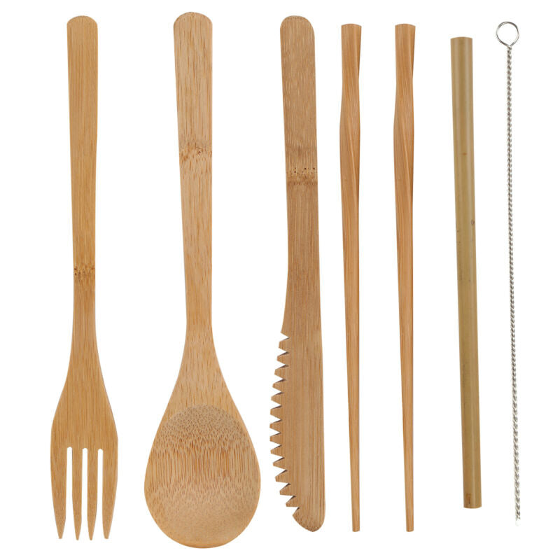 Biodegradable Cutlery | Travel Set 100% (Eco-Friendly)