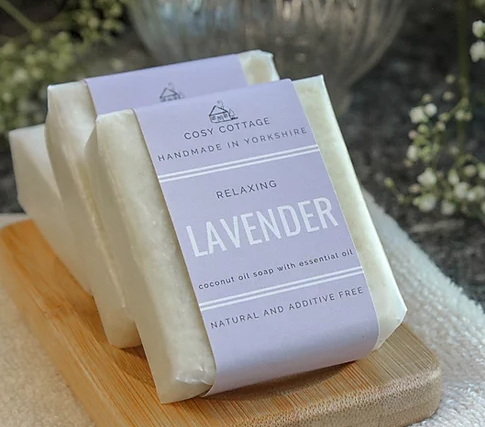 Lavender Palm Oil Free Solid Soap (55g)