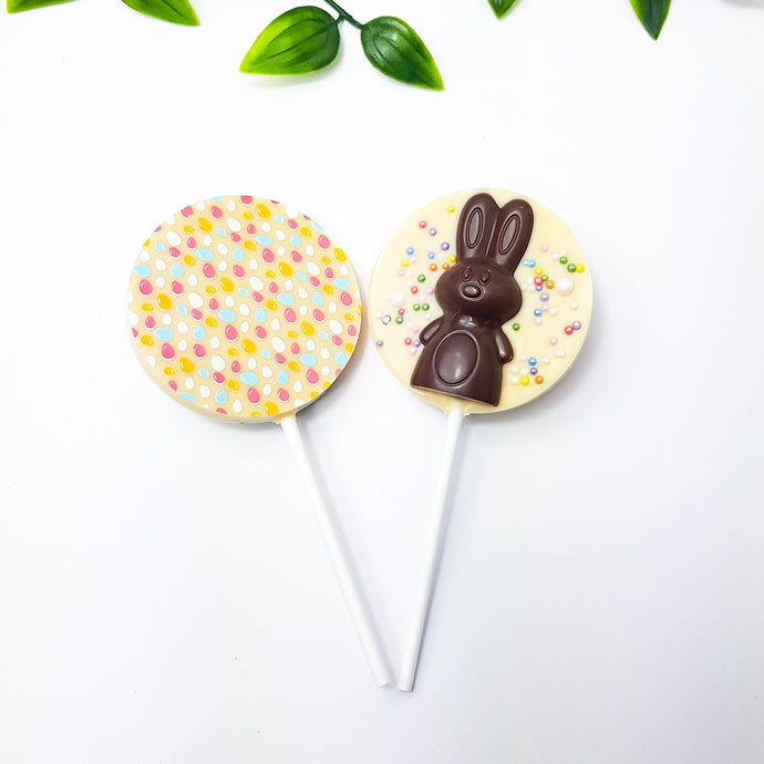 Easter bunny lollipop