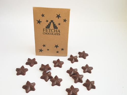 Mini chocolate stars