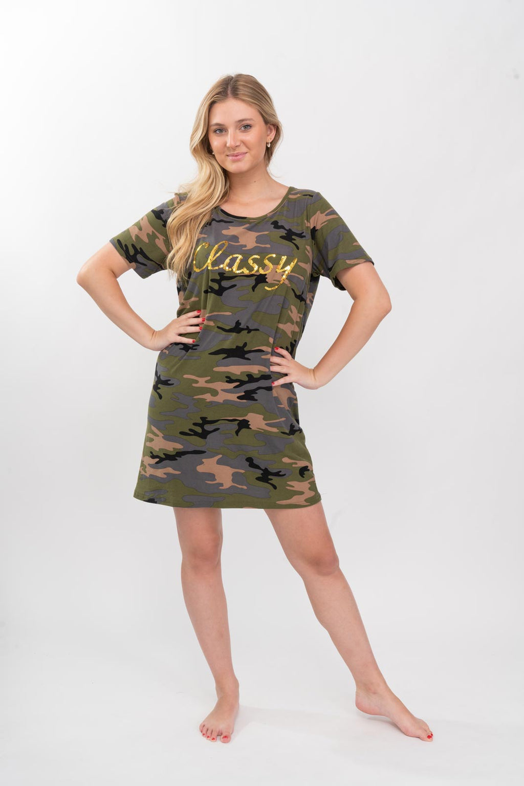 Camo Dorm Shirt - Pajamas