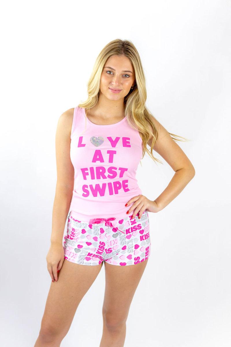 Short pajama set