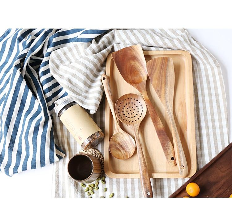 Natural Wood Tableware